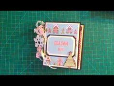 Gingerbread House Christmas Mini Book