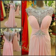 Sweetheart Prom Dresses Mermaid Prom Dress 2015 Second Killed Floor Length Party Gown Pink Beaded Evening Gowns