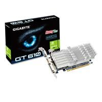 Gigabyte GV-N610SL-1GI GT610 Nvidia 1GB Low Profile Passive Cooling Graphics Card