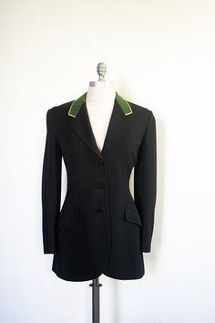 vintage riding jacket / 1930s riding jacket / polo by dingaling, $78.00