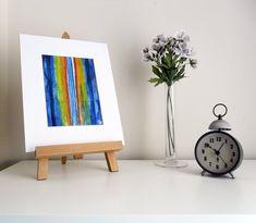 Vertical lines - original watercolour painting by Karolina Gassner Watercolour Painting, Floating Nightstand, Line Art, Abstract Art, The Originals, Interior, Handmade Gifts, Artwork, Posters
