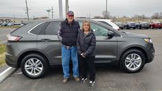 Awesome Ford: Awesome! Congratulations to Susan on your new 2017 ford edge!  Thank you again, ...  Ford Lincoln Kunes Country of Sterling