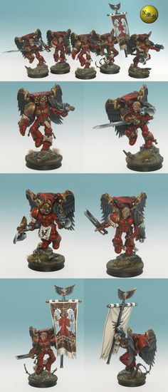 Blood Angel Sanguinary Guard Squad