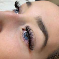 Gorgeous volume set by Paige . Eyelash Perm, Eyelash Extensions Styles, Volume Lashes, Makeup Trends, Teeth Whitening, Beauty Ideas, Makeup Cosmetics, Eyelashes, Brows