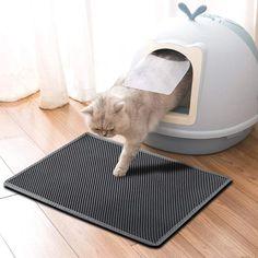 LITMAT™ Cat Litter Mat – TugNPup Cat Litter Mat, Litter Box, All Types Of Cats, Cat Urine, Baby Feet, Fur Babies, Things That Bounce, Your Pet, Kittens
