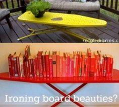 Idées pour recycler une planche à repasser