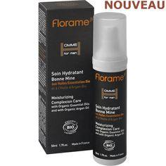 Soin BIO Hydratant Bonne Mine pour Homme www.florame-shop.ch