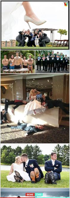 20 of the Funniest Photos of Grooms and Their Best men #groom #bestman #funnypictures #weddings #photography