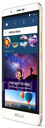 "BLU Energy X Plus 2 - 5.5"" 4,900mAh Super Battery - GSM Unlocked Smartphone (Gold)"