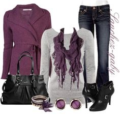 """""""Long Sleeve Cardigan"""" by sanchez-gaby on Polyvore"""