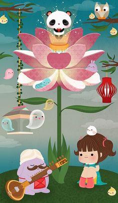 CUTE lotus.