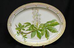 "Fine Vintage ""Flora Danica"" Royal Copenhagen Porcelain Oval Platter   eBay Flora Danica, Old Plates, Royal Copenhagen, Charger Plates, Vintage China, China Porcelain, Florals, Insects, Tray"