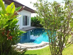 Thailand Real Estate Hua Hin Real Estate Hua Hin Pool Villa Hua Hin Property -- 3 Bedrooms 2 Baths (1 with Tub) -- Fully Furnished as Shown -- Living Area:  200 Square Meters -- Land Area:  560 Square Meters Price: 6.95 Million THB