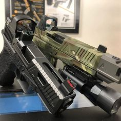 Two fine blasters....are you on team RMR or team DeltaPoint Pro? #rds #dotlife #agent #agency #agentlife #agencylife #agencyarms #glock #comp #417 #tradecraft #gotserrations #welcometothebrotherhood