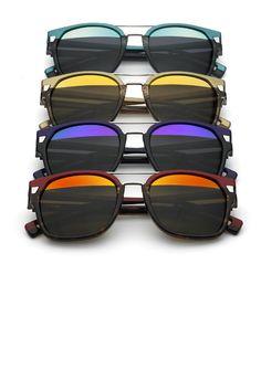 Des lunettes bicolores Lunettes Solaires, Lunette Soleil, Lunette De Vue  Femme, Lunettes De 517326c8e2d3