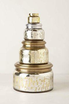 Anthropologie Capri Blue Giant Mercury Jar Gold Volcano One Size Candles Glass Vessel, Glass Jars, Candle Jars, Glass Candle, Candle Holders, Mason Jars, Volcano Candle, Large Candles, Decorative Candles