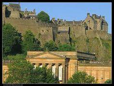Memories of my Childhood-Edinburgh Castle Scotland
