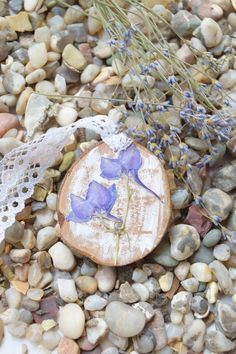 Dried flower necklace Floral jewelry Wedding от WoodenDecorate