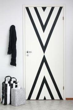 géométrie sur les portes - 5 - Pinterest