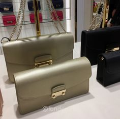 Furla Julia RM967 for Medium and RM800 for Small Gold ❤❤❤ it? Order now. Once it's gone, it's gone! Just WhatsApp me +44 7535 715 239. We are at Bicester Village (luxury designer fashion).  Last orders 12 midnight ⏰ Malaysia time.  See more great items 👉🏾 #L2KLbv #L2KLbv #L2KLbv, or contact me now on WhatsApp for anything you are searching for.