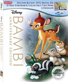 Bambi - Blu-ray, DVD, Digital HD