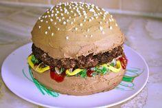 Hamburger Cake 14