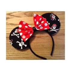 Pirates Mouse ears by ShopHouseOfMouse on Etsy, $25.00