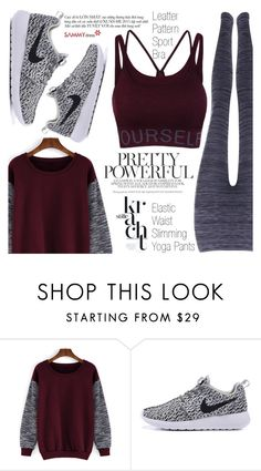 """""""Sport Look"""" by vanjazivadinovic ❤ liked on Polyvore featuring sammydress and polyvoreeditorial"""