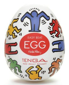 For you Antoine Vallée. Keith Haring Tenga egg in clever #packaging PD