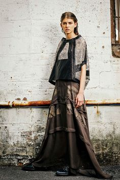 Gary Graham Spring 2015 Ready-to-Wear Collection Photos - Vogue Fashion Art, Spring Fashion, Fashion Show, Fashion Outfits, Fashion Design, Fashion Weeks, Gary Graham, Vogue, Spring 2015