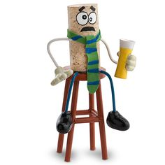 Corks Gone Wild� Collectable - Happy Hour Harry By popular demand, we proudly present, Corks Gone Wild: Epic's fun loving group of crazy corks. They are real cork figurines with bendable arms and legs. Never one to turn down a discount drink, Happy Hour Harry tends to really tie one on after a hard days work. When you work as hard as he does to climb the corporate ladder, partying hard is just part of the program.