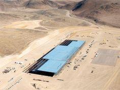 Slideshow : What Tesla's $5 billion Gigafactory looks like - What Tesla's $5 billion under construction Gigafactory looks like - The Economic Times