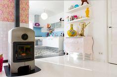 Zilverblauw kitchen © Caroline Welsing