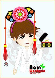 Prince Namu #Woohyun fanART
