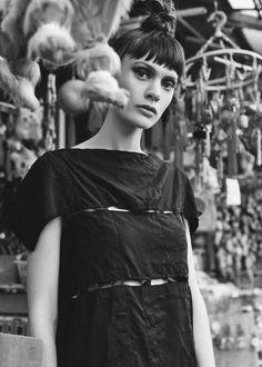 Comme des Garcons Ester Broad Dress (Black)