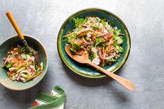 Vietnamese squid salad