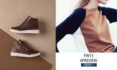 Sneaker alta alla caviglia realizzata in pelle snake con zip dorata sul davanti. Sottopiede estraibile di 30 mm. #Stonefly #shoes #scarpe  http://www.stonefly.it/it/2/collezione/donna/497/sidney-8.html