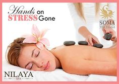 Hands On Stress gone... Experience the same at #NilayaSpa #SomaVineVillage