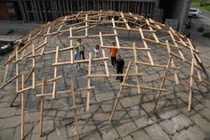 « Decay of a dome », Wang Shu, Biennale de Venise, 2010