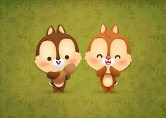 Kawaii Chip & Dale by Jerrod Maruyama, via Flickr    Awww me hace recordar mis navidades de pequeñita! viendo una y otra vez este espisodio http://www.youtube.com/watch?v=4Pf03xUc1OY