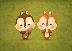 Kawaii Chip & Dale