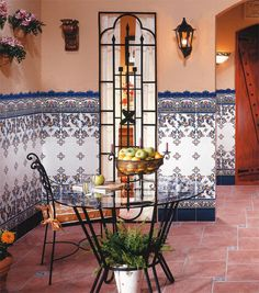 1000 images about in the spanish style on pinterest - Azulejos para patio ...