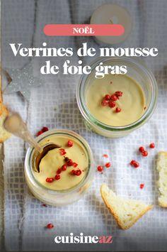 Ces verrines de mousse de foie gras sont cuisinées avec seulement 3 ingrédients. #recette#cuisine#verrine#foiegras #aperitif #apero #noel#fete#findannee #fetesdefindannee