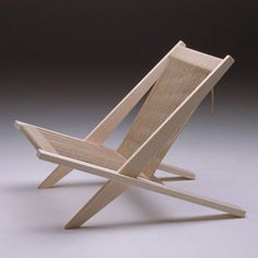 Poul Kjærholm and Jørgen Høj The Flagline Chair