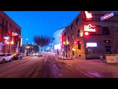 Welcome to Edmonton - evening drive in downtown. Edmonton is a capital city in province of Alberta, Canada. Edmonton is the north-most city in North America. Alberta Canada, Capital City, Vacation Trips, North America, Times Square, Youtube, Fun, Travel, Viajes