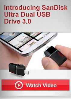 SanDisk Ultra® Dual USB Drive 3.0Selected: 64GB  | Item # SDDD2-064G