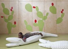 Crocodile Lounge by Sarit Shani Hay