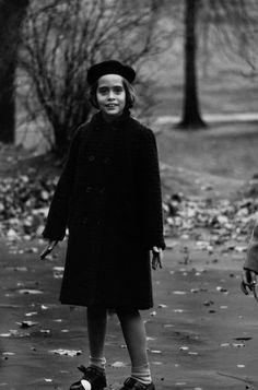 Diane Arbus - Girl in a beret in Central Park, N.Y.C. 1958