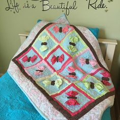 A personal favorite from my Etsy shop https://www.etsy.com/listing/275193978/butterfly-quilt