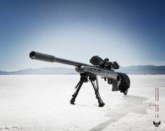 Silencerco 22Sparrow on a 17HMR (Photo Credit www.silencerco.com)